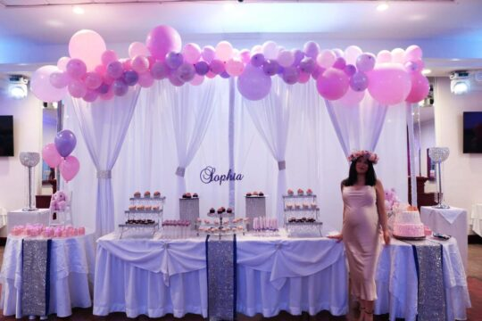 4.Baby Shower Dessert Table A